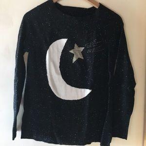 Loft moon and star sweater